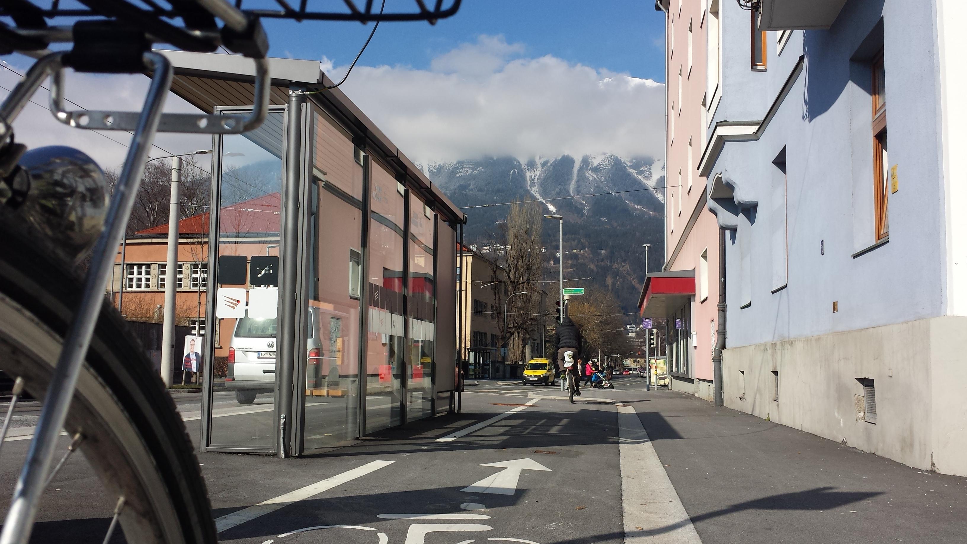 Innsbruck – Pembauerstraße / Egerdachstraße – Kreuzung